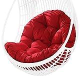 Generp Hängendes Stuhl Stoffkissen Verdicken Sie hängende Stuhlpolster für zu Hause Die Struktur eines Schaukelstuhls oder eines Korbstuhls Nearby