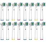 SOFTMATE Aufsteckbürsten für Oral B elektrische Zahnbürsten, 16er Pack