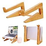 Home Laptop Stand, Funktionen und das schlanke Design, tragbare Holz Laptop Halter Riser, leicht und langlebig, Lesehalter