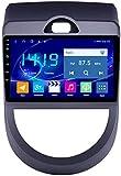 WXHHH Android 9.1 Auto-Stereo-Navigationsgeräte für Kia Soul 2010-2013, 9-Zoll-Touch-Display-Auto-Media-Player-Unterstützung Bluetooth USB WiFi SD,4g+WiFi:2+32