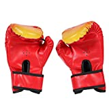 Kinder-Boxhandschuhe, Klein Box-Handschuhe,Kunstleder, Kickboxhandschuhe für Kampfsport,Boxsack-Set,für Kinder Boxsack Sparring Training, Boxsack Spielzeug & Geschenk,Kickboxen und Sandsack Sport