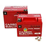 Carbon Electric Gel Batterie YTX4L-BS 12V 4Ah Vorgeladen Versiegelt Wartungsfrei vergleichbar YTX5L-BS YB4L-B