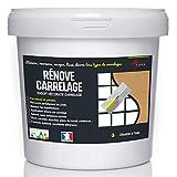 Putz für Fliesen - Fliesen verputzen - Betonbeschichtungs-Effekt - RENOVE CARRELAGE - Kupfer - Kit 20kg - 13m² für 2 Schichten