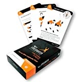 figgrs Trainingskarten Functional Fitness Vol. 1 (50 Fitnessübungen für eine leistungsfähige & dynamische Muskulatur I Bodyweight Übungen ohne Gerät überall durchführbar I Für Männer und Frauen)