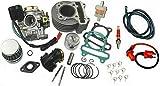 UNTIMERO 80 Racing Zylinder KIT VERGASER KOMPLETT für BENZHOU YY50QT-25 50 Luft Roller Zylinderkit