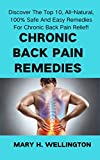 Chronic Back Pain Remedies: Discover the Top 10, All-Natural, 100% Safe and Easy Remedies for Chronic Back Pain Relief! (English Edition)