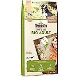 bosch HPC BIO | Adult Hühnchen & Apfel | Hundefutter für ausgewachsene Hunde aller Rassen | 100 % landwirtschaftliche Rohstoffe aus nachweislich biologischem Anbau | 1 x 11.5 kg