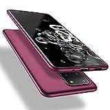 X-level Samsung Galaxy S20 Ultra Hülle, [Guardian Serie] Soft Flex TPU Case Ultradünn Handyhülle Silikon Bumper Cover Schutz Tasche Schale Schutzhülle für Samsung Galaxy S20 Ultra 5G - W