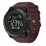 Mygsn Watch Fitness-Tracker, IP68 wasserdichter Aktivitäts-Tracker mit Schrittzähler-Pedometer-Uhr und Schlaf-Monitor-Kalorienzähler-Uhr, dünnes intelligentes Armband passend für Watch (Farbe : C)