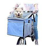 WAFFZ Transporttasche für Hunde und Katzen, mit großen Seitentaschen, bequemer, gepolsterter Schultergurt, für Reisen mit Ihrem Haustier