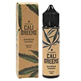 Cali Greens e-Liquid Amnesia Mango, Shake-and-Vape für Ihre e-Zigarette, 0.0 mg Nikotin, 50 ml
