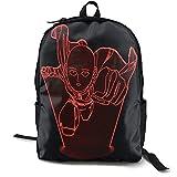 One-Punch Man Csic Travel Bapa Notebook-Tasche mit großer Kapazität Schultasche Leisure Busin Computer Bag Modisch Einfach für Männer und Frauen