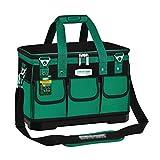 Multifunktion Werkzeugkoffer Große Verdickung Werkzeugkästen Appliance Repair Werkzeugkisten Elektro-Werkzeugsätze Wearable und tragbar Starke Tragfähigkeits Toolbox Werkzeugsatz set ( Color : Green )