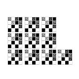 TinaDeer 10 Stück 3D Kristall Fliesenaufkleber Selbstklebend, Badezimmer Fliesen Aufkleber, Wasserfest Fliesenaufkleber, Aufklebefliesen, Mosaik Wandfliese Aufkleber, 10x10cm (A)