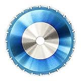 WEI-LUONG 1Pc 210mm 24T TCT Sägeblatt Blau Beschichtung Holzverarbeitung Sägeblatt Rund Trennscheiben HM-Sägeblatt Werkzeuge