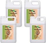 INSI GO Universal-Insektizid - Hochwirksames Insekten-Spray Mit Langzeitschutz - Auf Wasserbasis - 4 x 5L
