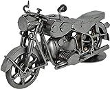 CREOFANT Schraubenmännchen Motorrad · Motorrad Geschenke · Schraubenfigur · Metallfigur · Metallmännchen · Handarbeit Designed in Germany · Metall Geschenke · Hinz & Kunst Original Schraubenmännchen