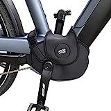 NC-17 Connect Universal Neopren Motor Cover 4.0   Schutzhülle, Motorschutz, Abdeckung, Motorcover für E-Bikes mit Mittelmotor und integriertem Akku   One Size   Farbe Schwarz, Einheitsgröße