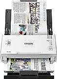 Epson WorkForce DS-410 Dokumentenscanner (DIN A4, 600dpi, USB 2.0, Beidseitiges Scannen in einem Durchgang)