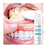 Reinigung Mousse Zahnpasta Mundhygiene ,Weiß Schaum Zahnaufhellung Zahnpasta Mundhygiene Entfernt Plaque Flecken für Alle Menschen,Tooth Mousse Recaldent Minze (60 ml)