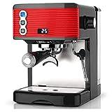 HIZLJJ Kaffeevollautomat Kaffeemaschine Start Automatische Kaffeemühle Kleiner Edelstahl Espressomaschine Büro Dampf-Kaffeemaschine for Gewerbe Kaffeemaschine