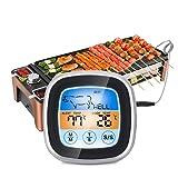 Digitales Lebensmittelthermometer Sonde Grill BBQ Fleischthermometer Sofortiges Lesen Küchentimer-Thermometer für Zucker-Wasser-Marmelade-GrillSilver.
