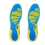 ZDYS Schuhpolster, Fußpflege, Sport, Militär, Einsatz, Laufen, rutschfest, TPE, orthopädische Einlegesohle, stabile Stoßdämpfung, Unisex, Walking(L)