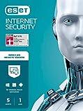 ESET Multi-Device Internet Security 2021 | 5 Geräte | 1 Jahr | Windows (10, 8, 7 und Vista), macOS, Linux und Android | Dow