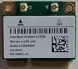 langchen WiFi 6 Wireless Adapter Mini PCI-E Card AX3000H AX3000HMW Bluetooth 5.1 WiFi Card (AX200 chip in)