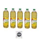 Gut und Günstig Pflanzenöl mit gratis Jelly Beans (Speiseöl aus Raps 5x1000ml)
