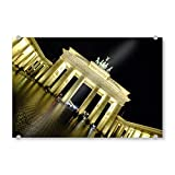 artboxONE Acrylglasbild 45x30 cm Städte/Berlin Brandenburger Tor, Berlin-Mitte - Bild Berlin Architektur Berlin