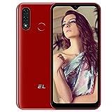EL D60PRO Smartphone ohne Vertrag Günstige 4G, Android 10 3GB+32GB Handy 4000mAh Akku 6,1 Zoll Verdreifachen Kamera 13MP Dual SIM, 3in1 Kartensteckplatz Gesichtsentsperrung/Fingerabdruck-ID