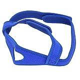 Schnarchen Kinnriemen Material Weicher Anti-Schnarch-Riemen, besser schlafen(blue)