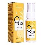 Q10 Spray Vegavero ®   Hochwertiger Markenrohstoff Q10Vital™   50 mg Coenzym Q10 mit Vitamin B1   Ohne Zucker & künstliche Zusatzstoffe   Ananas-Geschmack   Vegan