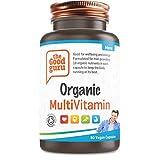 The Good Guru - Organisches Multivitamin für Männer, vegane Multivitamin-Tabletten - Multivitamin-Tabletten für Männer mit 18 essentiellen aktiven Vitaminen und Mineralien - (90 Kapseln)