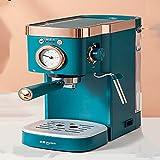 RUBAPOSM Kaffeemaschine, Home Espressomaschine, Kleine Halbautomatische Intelligente Kaffeemaschine, Amerikanischer Kaffeefilter für Tee und Kaffee