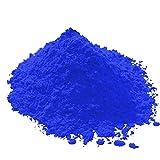 Eisenoxid Pulver - Blau 5Kg - Oxidfarbe Trockenfarbe zementecht Pigmentpulver für Beton Estrich Zement Putz Gips Epoxidharz Wand Boden