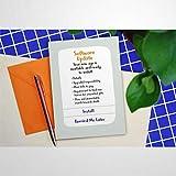 Software-Update Geburtstagskarte, Grußkarten mit Umschlägen, lustige Segenskarten arp040