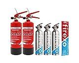 Firexo 809-765-346-406 All Fires Feuerlöscher, Small Office Pack