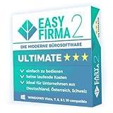 EasyFirma 2 Ultimate - Bürosoftware, für Mahnungen, Einnahmen, Ausgaben, Umsatzsteuer,