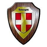 Wappenschild Wandschild Savoyen Savoie Savoia Savouè Wappen Frankreich #25467