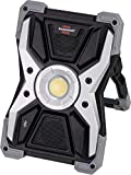 Brennenstuhl Mobiler LED Akku Strahler RUFUS 3010 MA mit Bluetooth Lautsprecher (LED Baustrahler mit Powerbank-Funktion, inkl. Ladekabel, Gehäuse aus Aludruckguss, 3000lm, IP65)