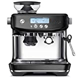 Sage Appliances SES878 the Barista Pro, Siebträgermaschine, Black Stainless