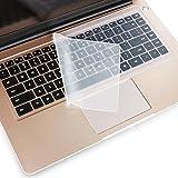 Vaxson 2 Stück Tastatur Schutzfolie, kompatibel mit Schenker XMG P507 15.6' , Tastatur Abdeckungen Hautschutzfolie [Nicht Displayschutzfolie / Hülle ]
