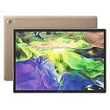 Tablet 10,8 Zoll - Android 8 Tablet-PC, 3GB RAM 32GB ROM 10 Kern Prozessor, 2560x1600 IPS, 13MP+5MP Kamera, 4G Dual SIM WiFi GPS Tablette (Gold)