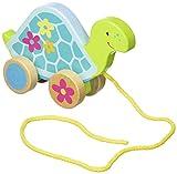 Goki 4013594549141 Miniaturfahrzeug-Schildkröte Tier ziehen