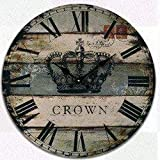 Busirsiz Retro Haus antiker Wandtisch mutet Uhr Quartz Clocks ist EIN Familienrestaurant Küche Büro Schulen sind ideal for jeden Raum, G (Farbe: -, Größe: -)