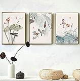 Wallpaper M Moderne und einfache Elegante Blumen und Vögel Volks dekorative Malerei Breite 40 X Höhe 60 cm