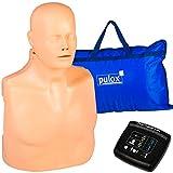 Trainingspuppe Practi-Man Plus Trainings Solutions Erste Hilfe Trainingspuppe Reanimationspuppe 2in1 CPR Übungspuppe mit direktem digitalen Feedback