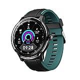 GULU IP68 wasserdichte Männer Frauen Sport Smart Watch Sn80 Volle Runde Touch Herzfrequenzmonitor Fitness Tracker Smart Watch Für Android Ios,E